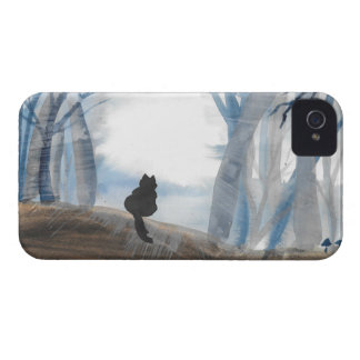 Kitty On A Misty Morning Case-Mate iPhone 4 Case