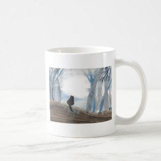 Kitty On A Misty Morning Coffee Mug