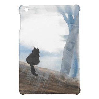 Kitty On A Misty Morning iPad Mini Cases