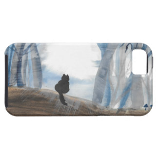 Kitty On A Misty Morning iPhone 5 Cases