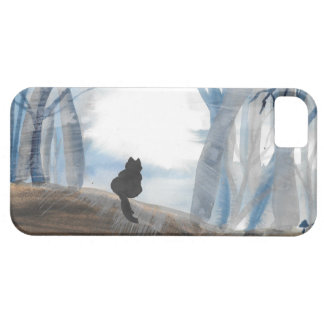 Kitty On A Misty Morning iPhone 5 Covers