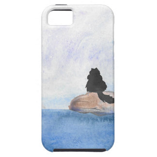 Kitty On Stepping Stones iPhone 5 Case