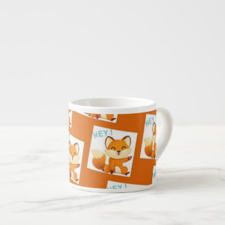 Kitty Orange Mug