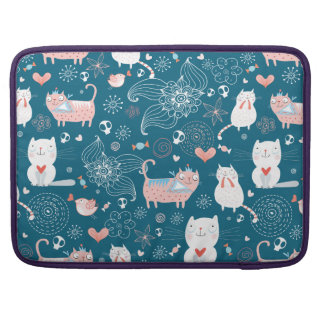 Kitty Pattern one Sleeve For MacBook Pro