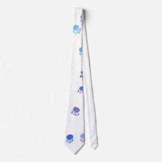 Kitty Paw Prints Tie