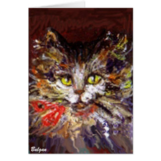 KITTY PORTRAIT CARD