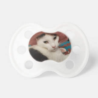 Kitty pose pacifier