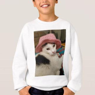 Kitty pose sweatshirt