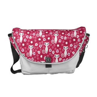 Kitty Power Floral Commuter Bags