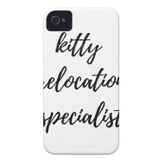 Kitty Relocation Specialist Case-Mate iPhone 4 Case