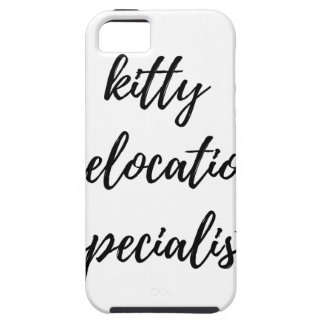 Kitty Relocation Specialist iPhone 5 Cases
