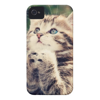 Kitty says please! iPhone 4 cover