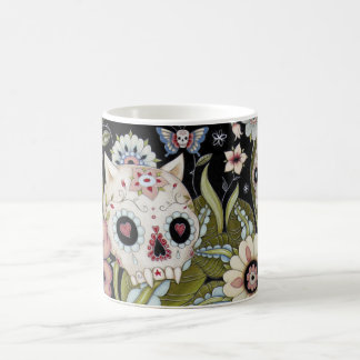 Kitty Scull and Luna Moth Coffee Mug
