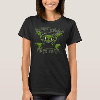 Kitty Sturg Moto Club-Green3D-acigifts@yahoo.com T-Shirt