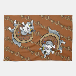 Kitty Sweet Donut Kitchen Towel