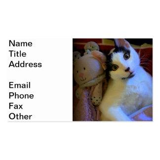 Kitty Sweet Dreams Business Card