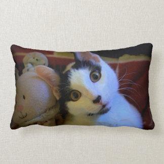Kitty Sweet Dreams Throw Pillows
