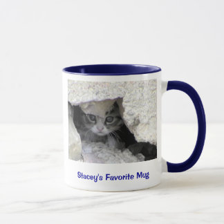 kitty under porch, Stacey's Favorite Mug