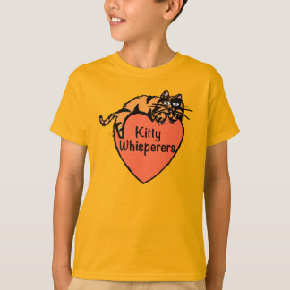 Kitty Whisperers Orange Tee