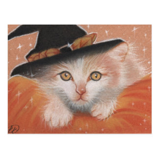 Kitty Witch Postcard