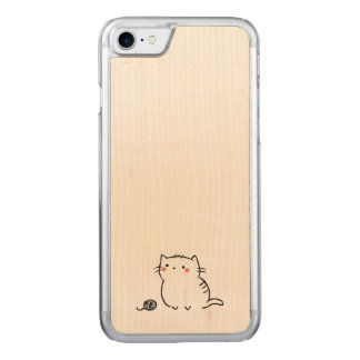 Kitty & Yarn Carved iPhone 8/7 Case