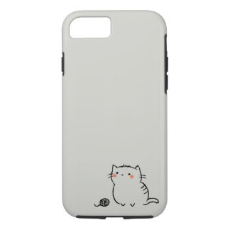 Kitty & Yarn iPhone 8/7 Case
