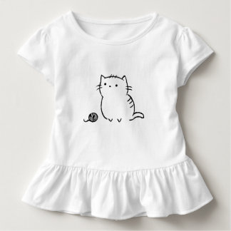 Kitty & Yarn Toddler T-shirt
