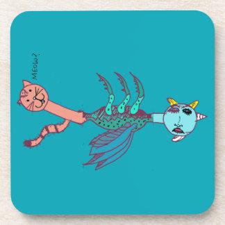 Kittycorn Coaster