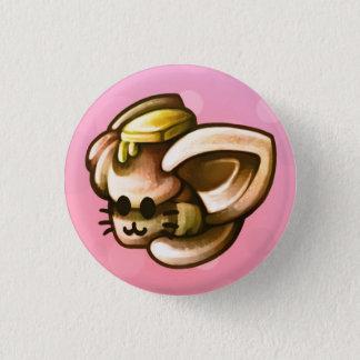 KittyLoafDinnerRoll 1 Inch Round Button