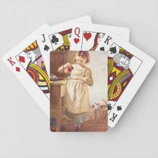 Kitty's Breakfast', Emily_Groups and Figures Playing Cards
