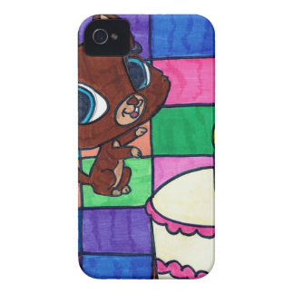 kitty's first birthday iPhone 4 cases