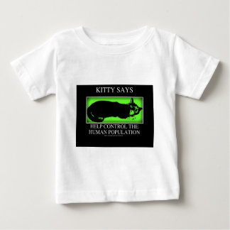 kittysaysgreen baby T-Shirt