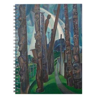 Kitwancool by Emily Carr Spiral Notebook