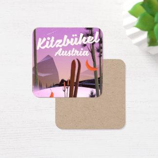 Kitzbühel Austria Square Business Card