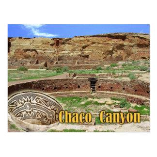 Kiva at Chetro Ketl, Chaco Canyon, New Mexico Postcard