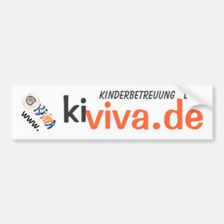 kiviva.de bumper sticker