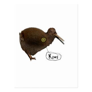 Kiwi at heart postcard