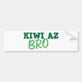 KIWI Az BRO (New Zealand) Bumper Sticker