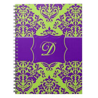 Kiwi Berry Spiral Notebook