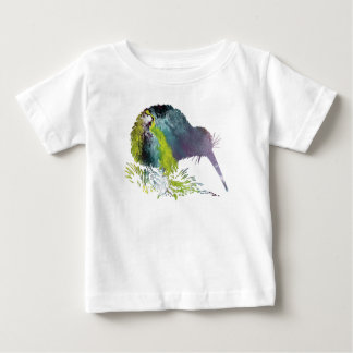 Kiwi Bird Art Baby T-Shirt