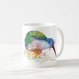 Kiwi Bird Art Coffee Mug