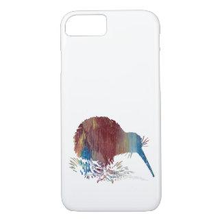 Kiwi Bird Art iPhone 7 Case