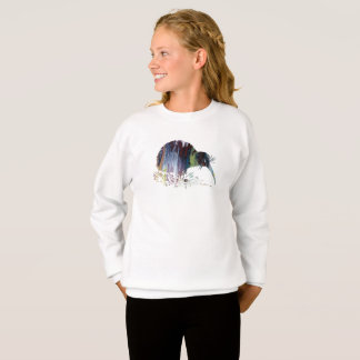 Kiwi Bird Art Sweatshirt
