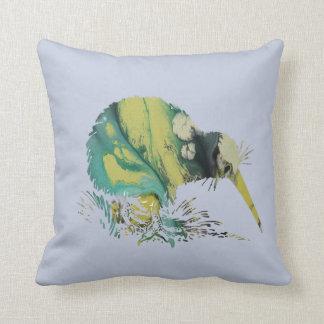 Kiwi Bird Art Throw Pillow