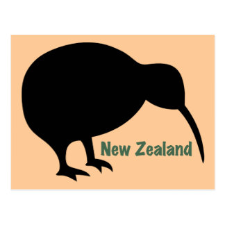 Kiwi Bird - New Zealand Postcard