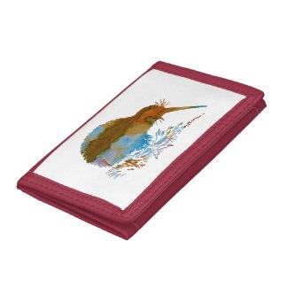 Kiwi Bird Tri-fold Wallet
