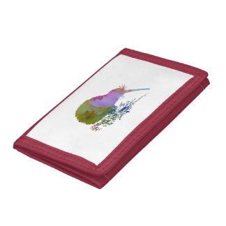 Kiwi Bird Trifold Wallets