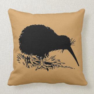 Kiwi Birds Throw Pillow