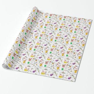 Kiwi Birthday Wrapping Paper (small )
