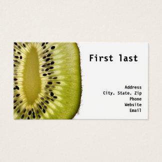 Kiwi Fruit Business Card